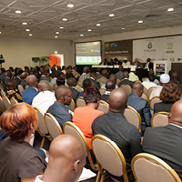 West Africa Fertilizer Forum presentation room