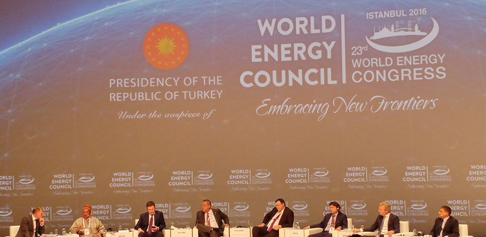 World Energy Congress in Istanbul
