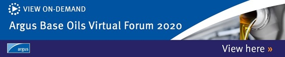 Argus Base Oils Virtual Forum 2020