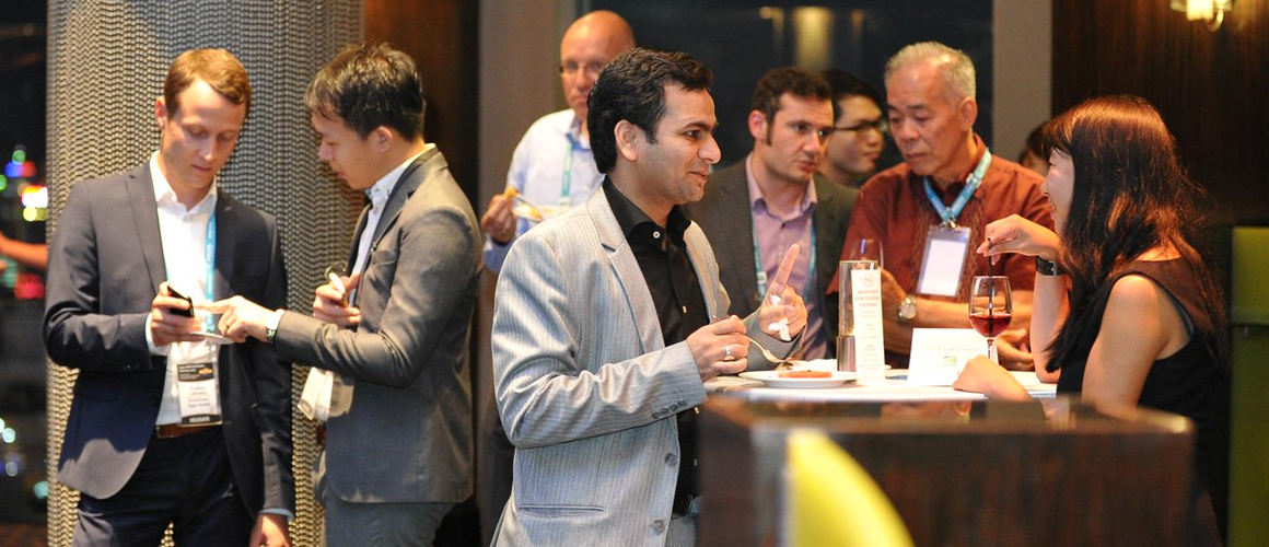 Fertz NPK Asia drinks reception