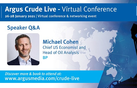 Speaker interview | Argus Crude Live - Virtual Conference